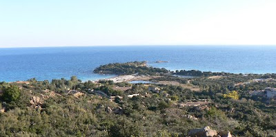 La Corse, plage de Palombaggia