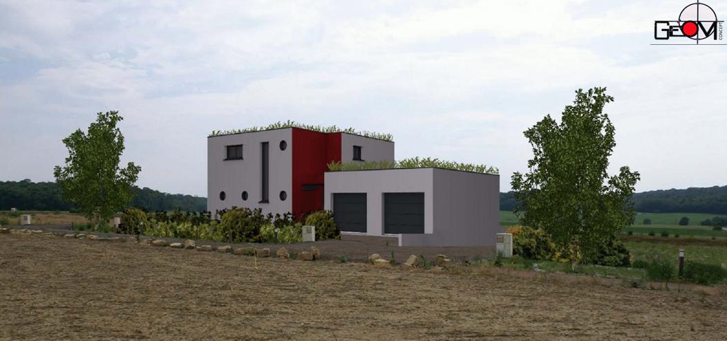 notre maison passive au pays des 3 fronti res lorraine simulation de notre pr projet. Black Bedroom Furniture Sets. Home Design Ideas