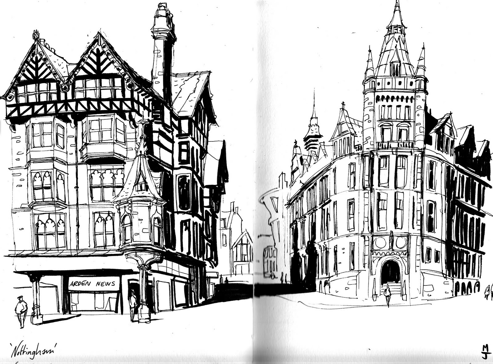 Nottingham Urban Sketchers