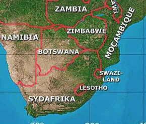 karta södra afrika honisydafrika   svart på vitt karta södra afrika