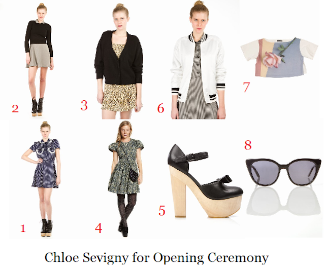 a368dc8ebdc654 ... to girly sweaters and dresses to some edgy footwear (hello platforms!).  Pictured below are my favorite picks from the Chloe Sevigny for OC  collection: