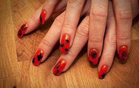 Decoración De Uñas Para Halloween Tatamba Decoración Y Regalos