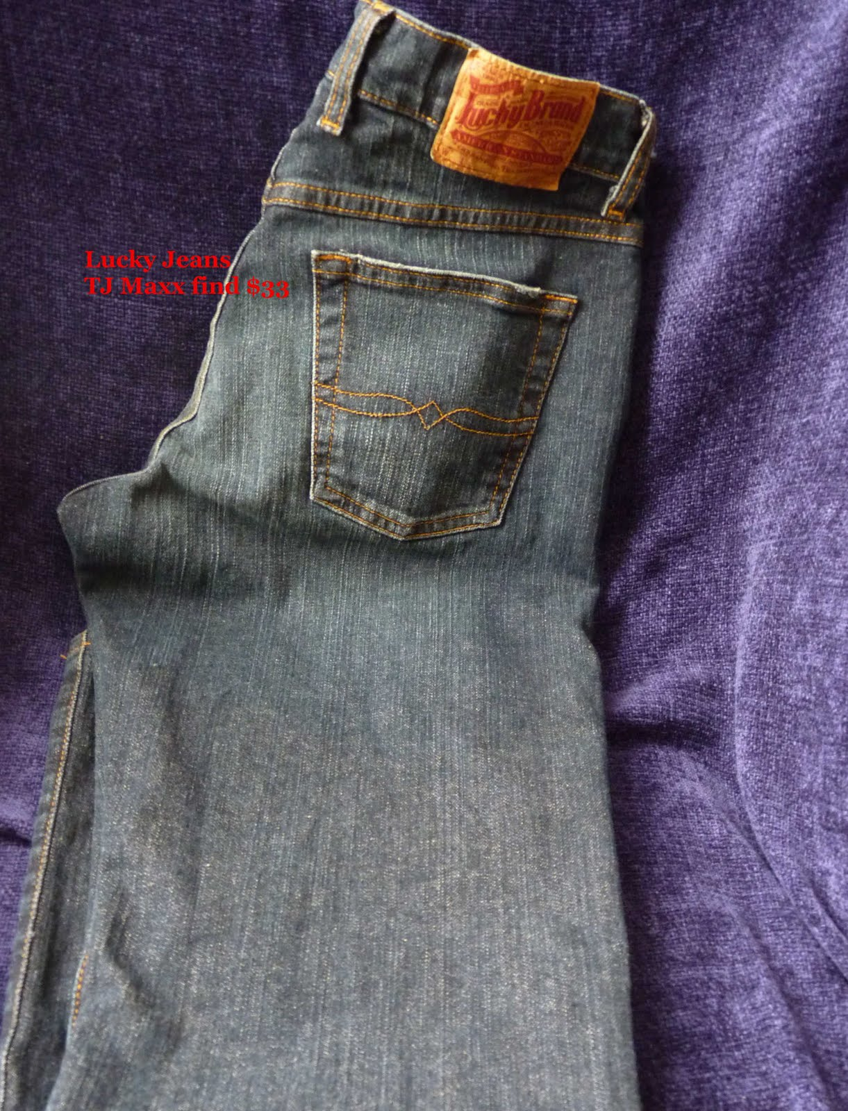 a4ccb872f7d Over the summer I had found a pair of my favorite Levi s 515 that fit  nicely since losing weight for  15- so I have started checking jeans more  often now.