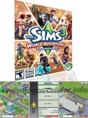jogos java para celular jogo the sims 3 world. Black Bedroom Furniture Sets. Home Design Ideas