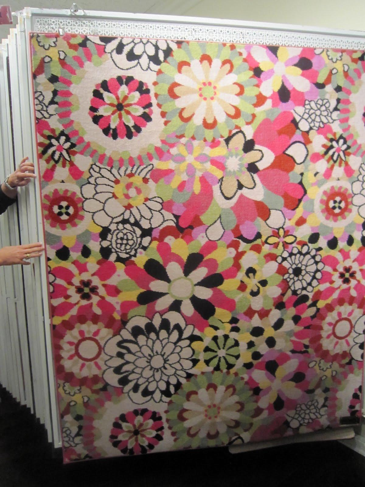 Nursery Notations: Missoni Carpet Inspiration