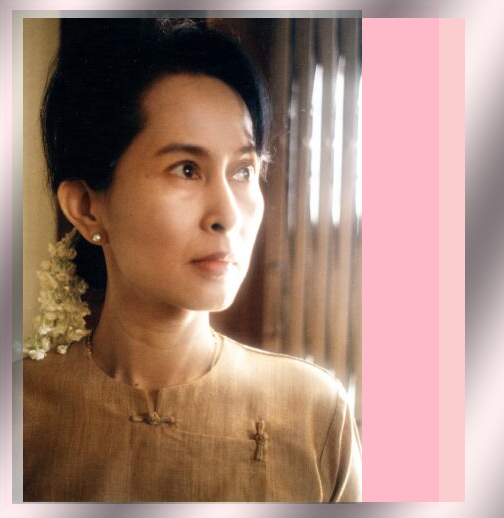 woman clothes: Aung San Suu Kyi, Nonviolence and Links to ...