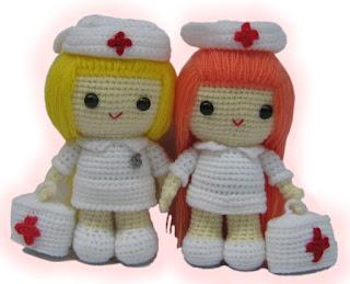 Amigurumi nurse