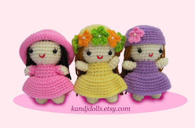 Little girls Amigurumi