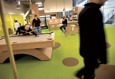 Googleplex Inside Google Headquarter