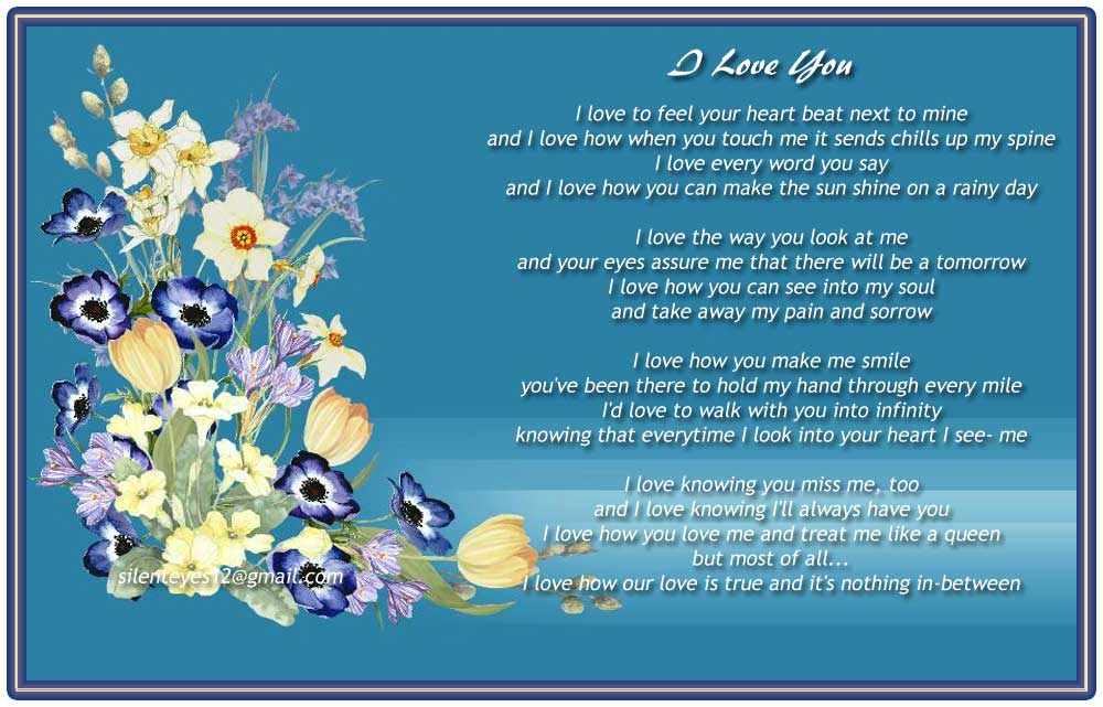 Most Loving And Romantic True Love Poems