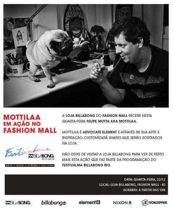 0c1ae2fc077 Mottilla em Ação no Fashion Mall.