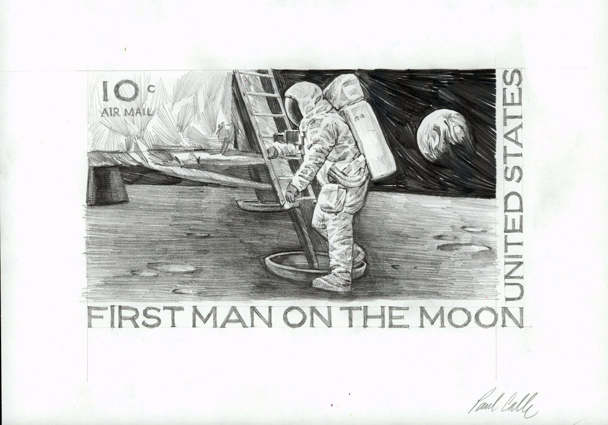 Space Artists: Stepping on the Moon with Paul & Chris Calle