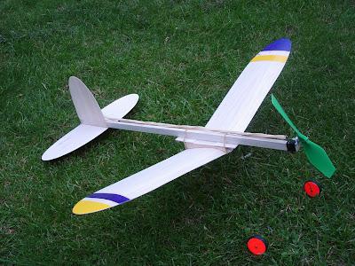 Chuck Glider's Model Aircraft Jotter: 2007