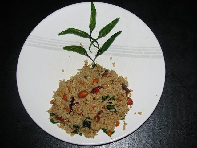 SwapnaSridhar: pulihora/pulusu annam/tamarind rice and