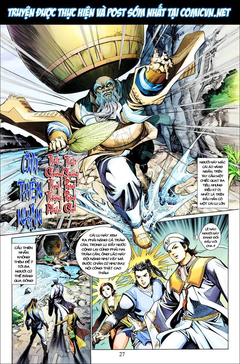 Anh Hùng Xạ Điêu anh hùng xạ đêu chap 29 trang 27