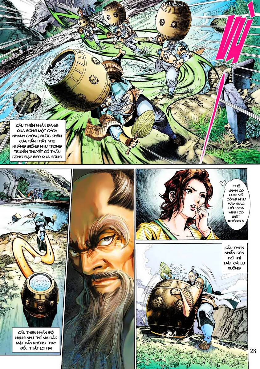 Anh Hùng Xạ Điêu anh hùng xạ đêu chap 29 trang 28