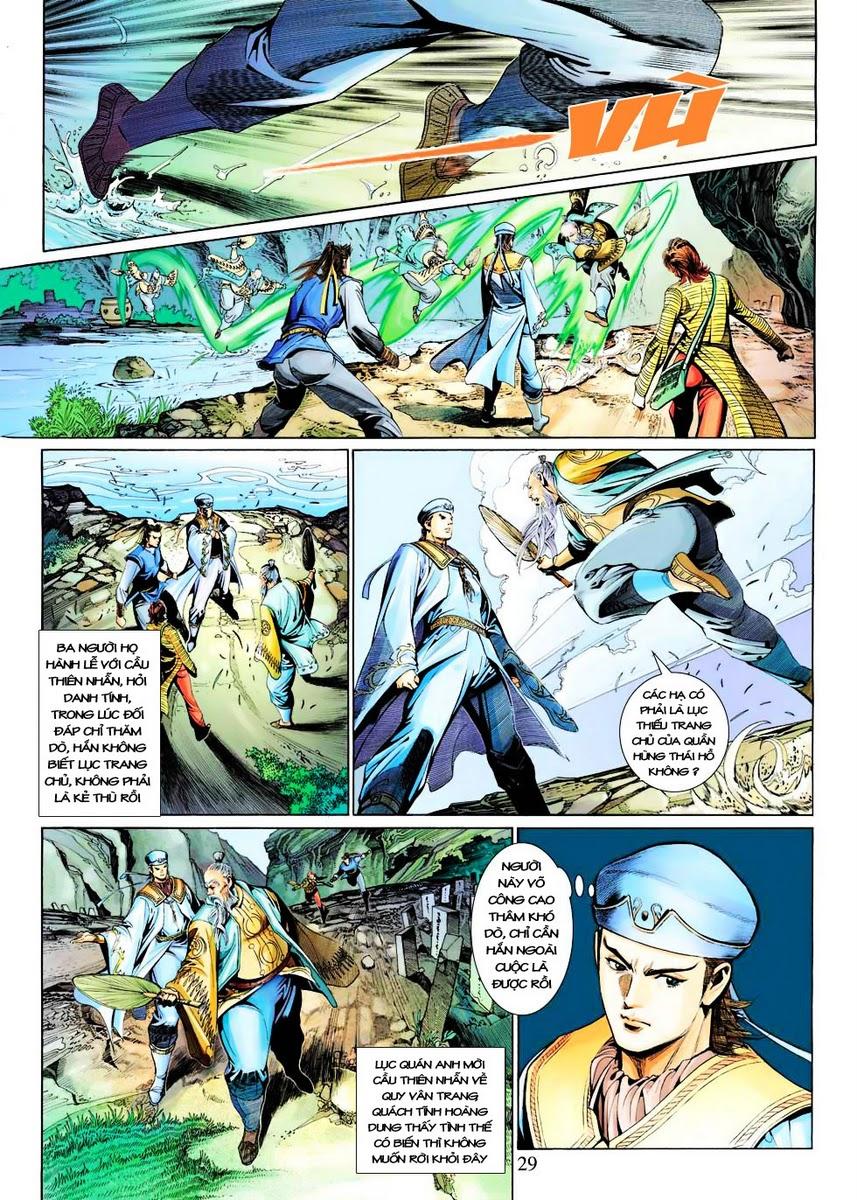 Anh Hùng Xạ Điêu anh hùng xạ đêu chap 29 trang 29