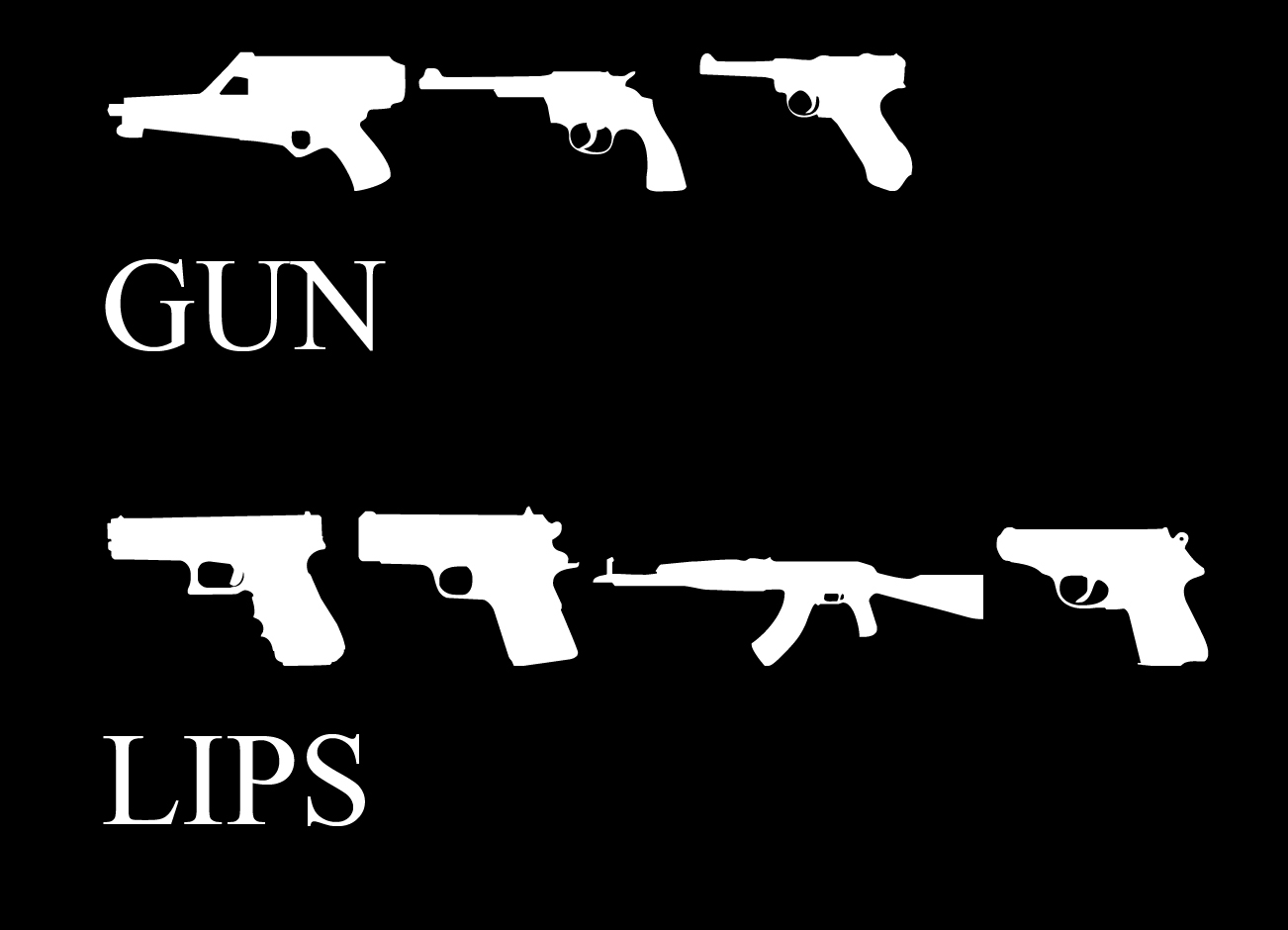 Back To The Future Font Generator: Gun Font