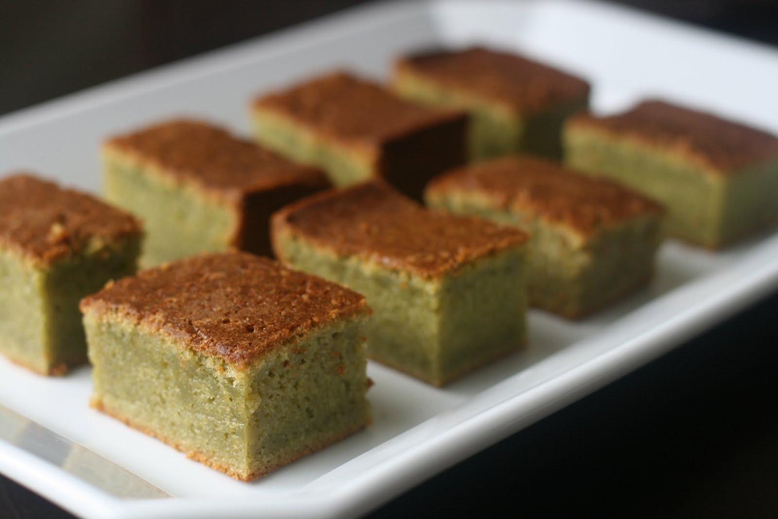 Butter Cake Recipe Japanese: Week Of Menus: Green Tea Mochi Cake: Living With Regret
