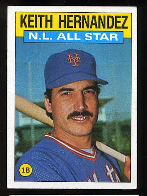 1986 Topps Keith Hernandez All Star