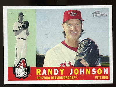 2009 Topps Heritage Randy Johnson