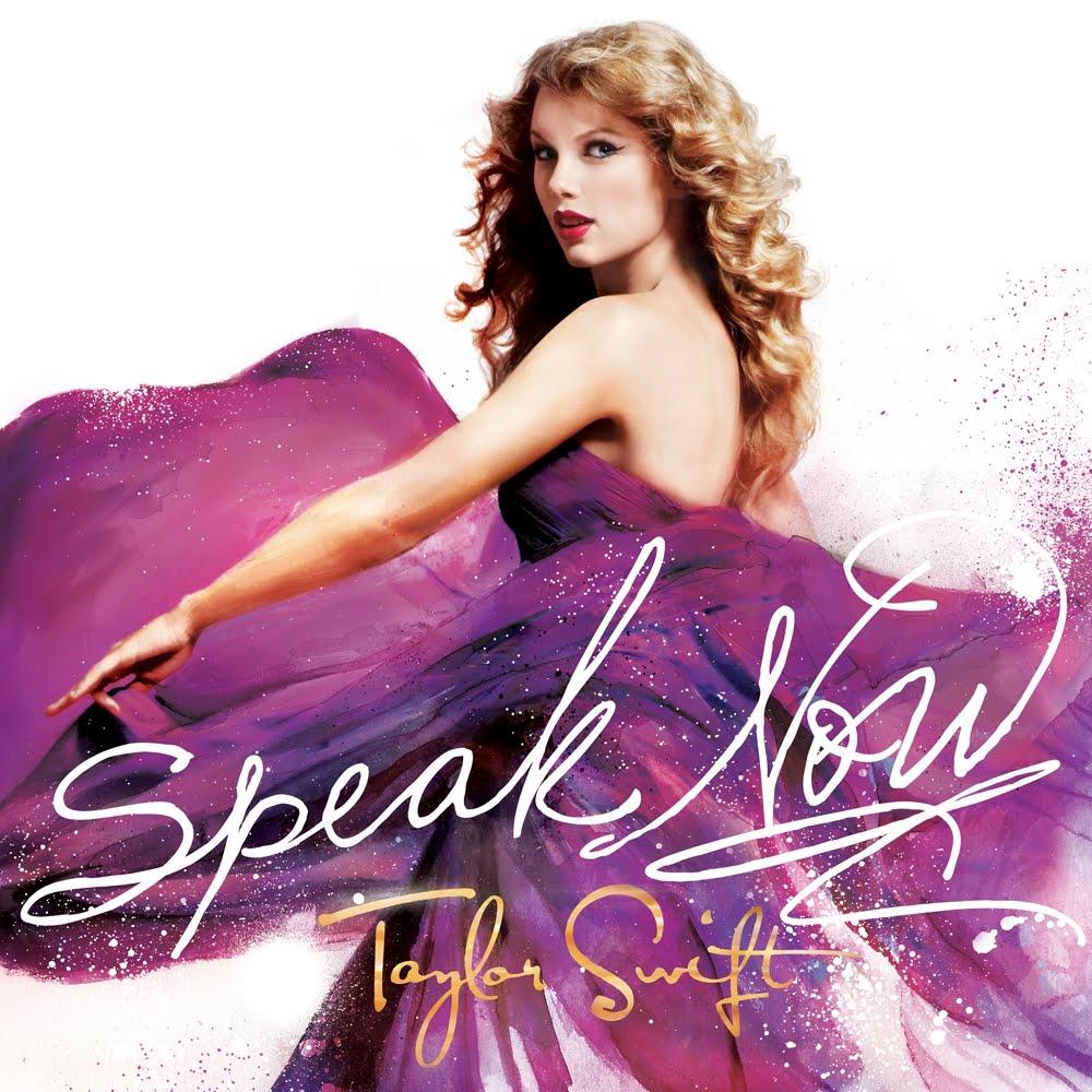 "Taylor Swift Love: ""Speak Now"" Album Cover!"