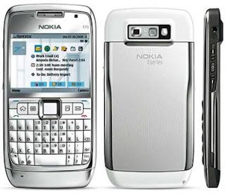 Nokia e71 sees firmware update.