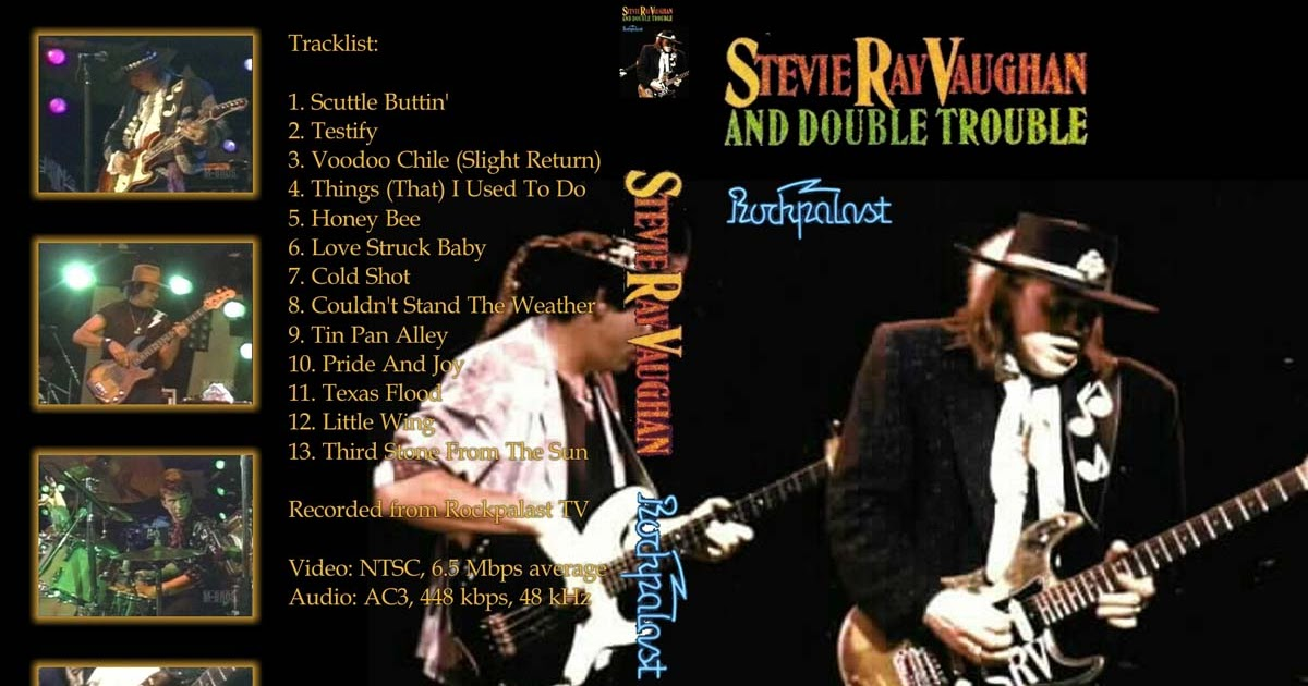 dvd concert th power by deer 5001 stevie ray vaughan 1984 08 25 loreley open air festival. Black Bedroom Furniture Sets. Home Design Ideas