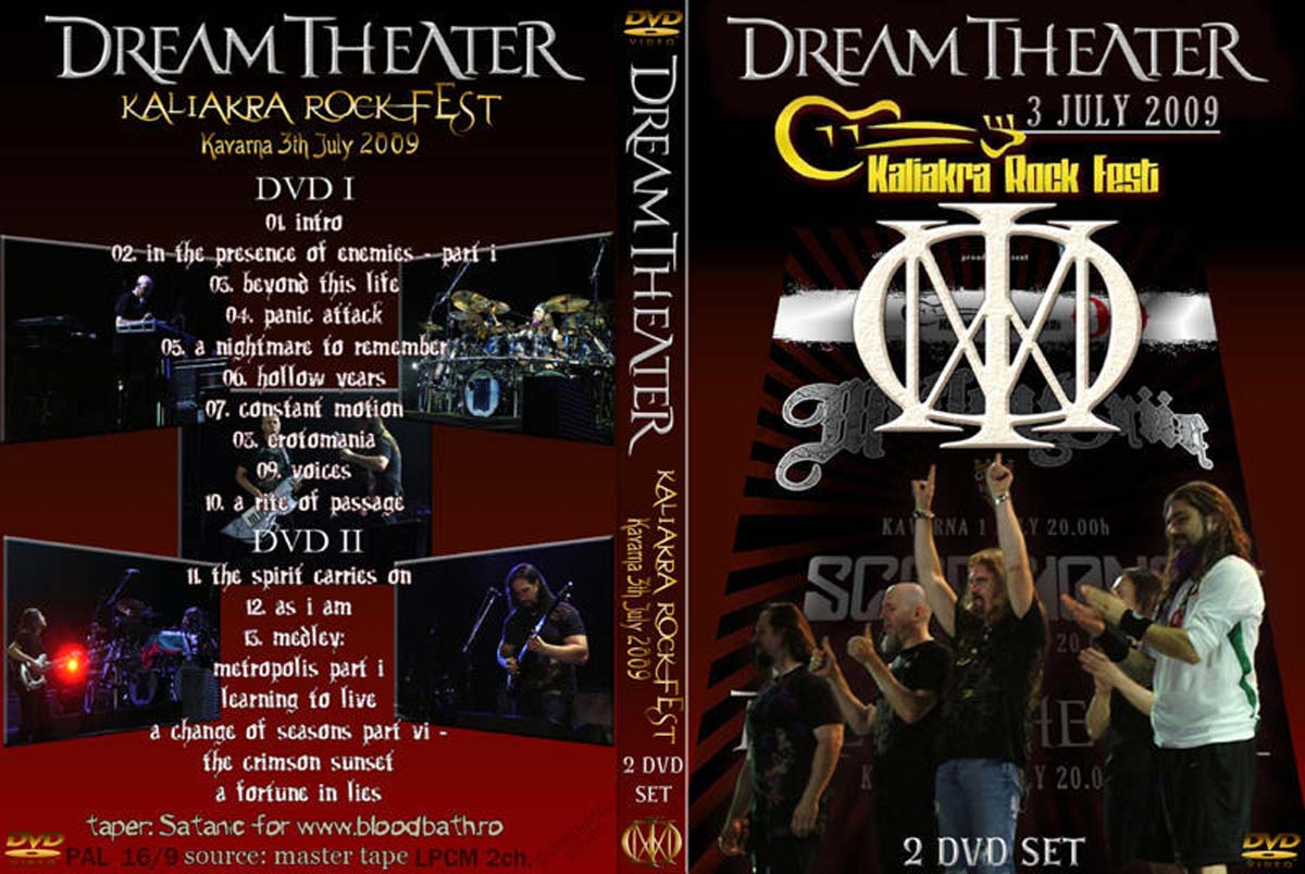 dvd concert th power by deer 5001 dream theater 2009 07 03 live in kavarna bulgaria. Black Bedroom Furniture Sets. Home Design Ideas