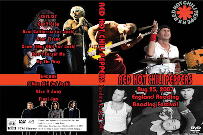 DVD Concert TH Power By Deer 5001: RED HOT CHILI PEPPERS ...