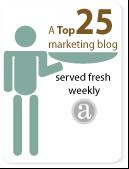 Top 25 Marketing Blog weeks 58, 59, 60, 61, 62, 64, 65, 66, 67