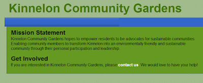 Kinnelon Community Gardens Update, Events, Website
