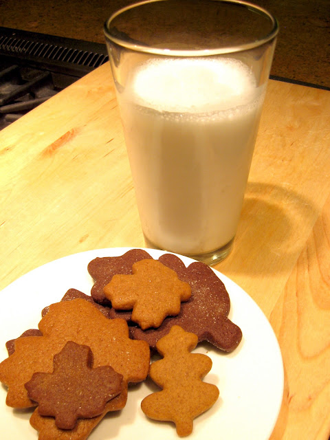 These fall cookies are a great hit. Use a gingerbread cookie recipe and leaf cookie cutters.