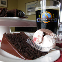 Chocolate Beer Cake: Saugatuck Brewing Company's Neapolitan Stout