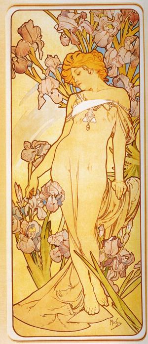 アルフォンス・ミュシャのイラスト・画像