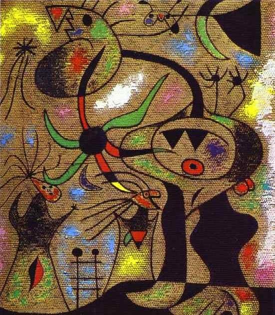 A Joan Mir 243 Art Gallery Joan Mir 243 Art The Escape Ladder