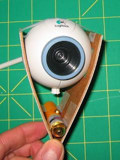 lazer mesafe ölçümü webcam