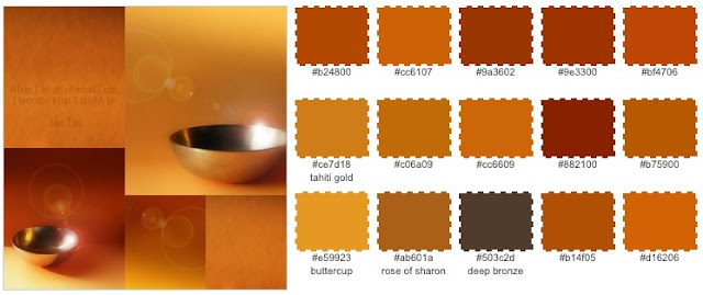 Daily Colours - Photos and Quotes: Colour Palettes