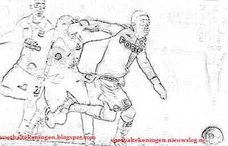 Kleurplaat Nec Feyenoord