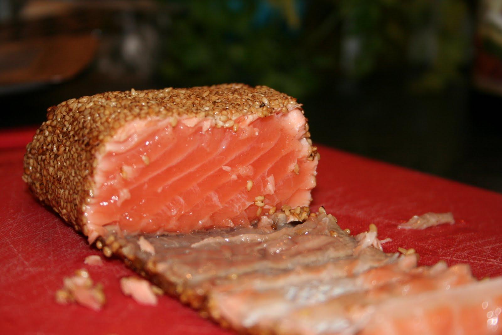 de la soupe au dessert cocotte pinard saumon au s same. Black Bedroom Furniture Sets. Home Design Ideas