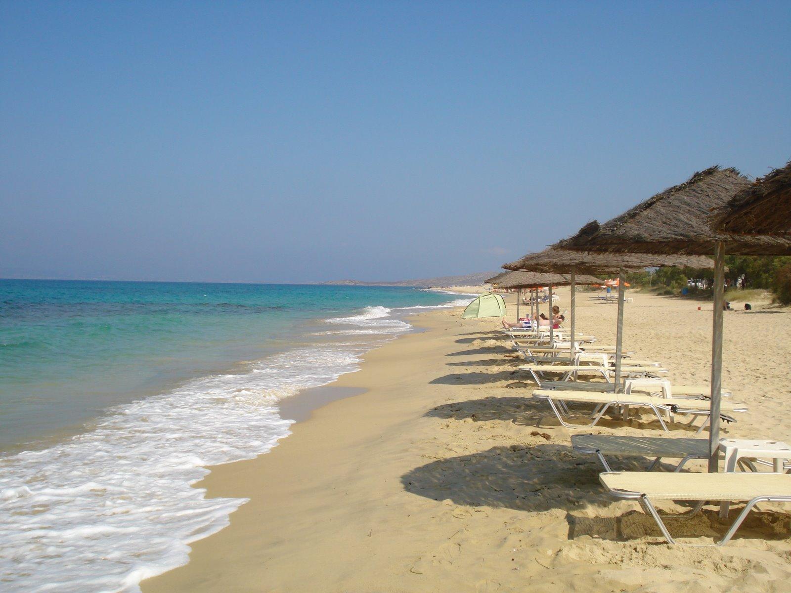 Greek Island Beaches: Travelthroughhistory: NAXOS ISLAND: SANDY BEACHES AND