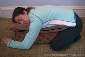 do restorative yoga restorative sequence