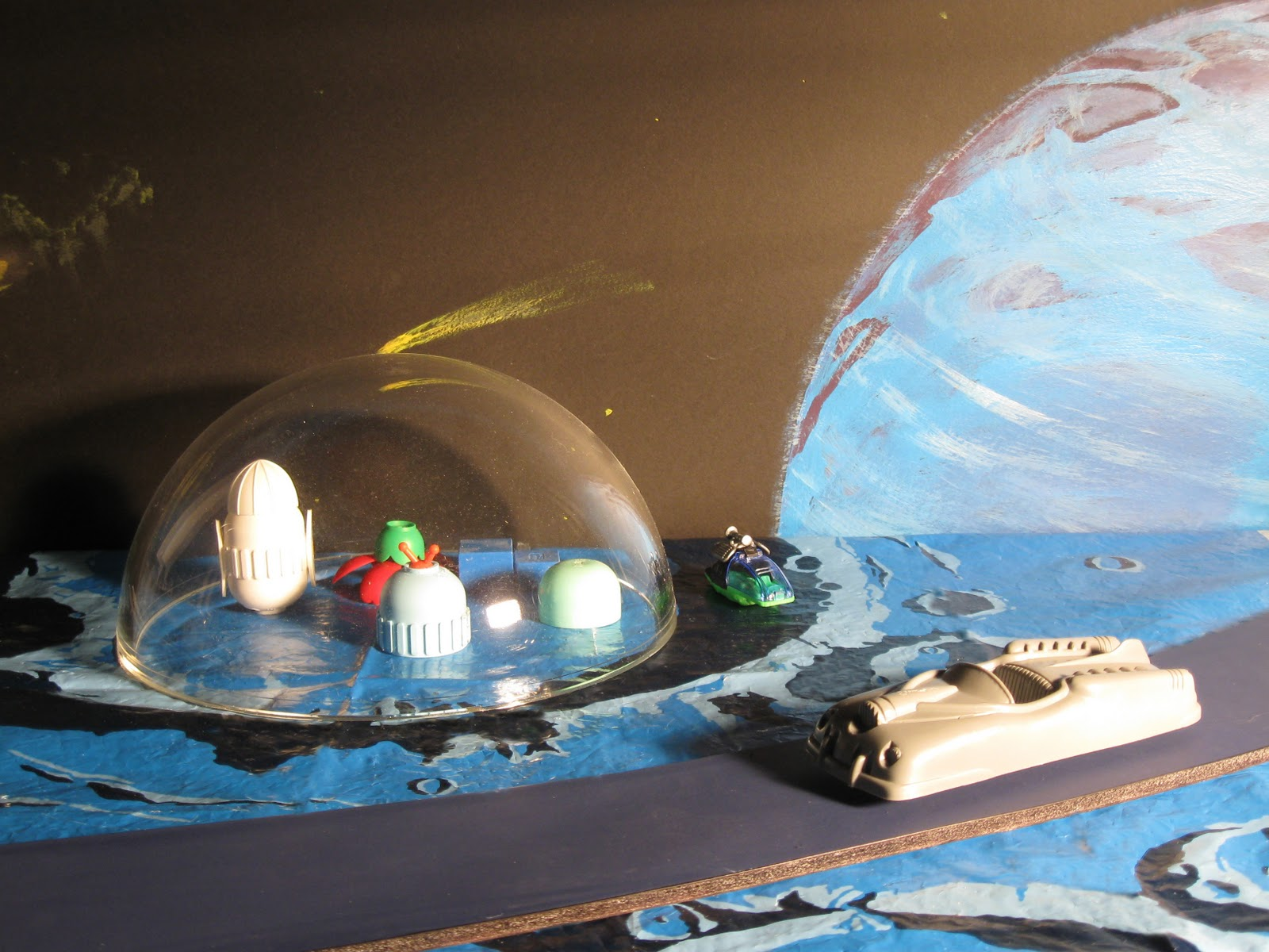 NASA Space Diorama - Pics about space