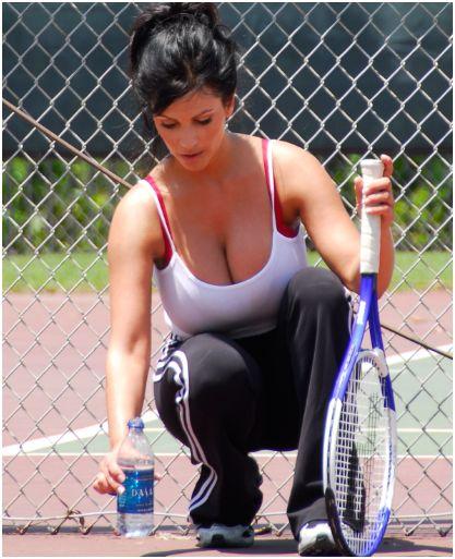 Tennis Big Tits 118