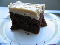 Heavy Chocolate Cake with Penuche Frosting