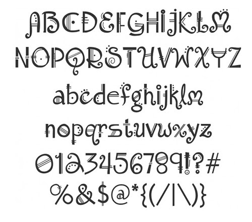 Shadowhouse Creations: Font Watch: 5 Fonts To Think About