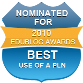 Nominated for Edublog Award