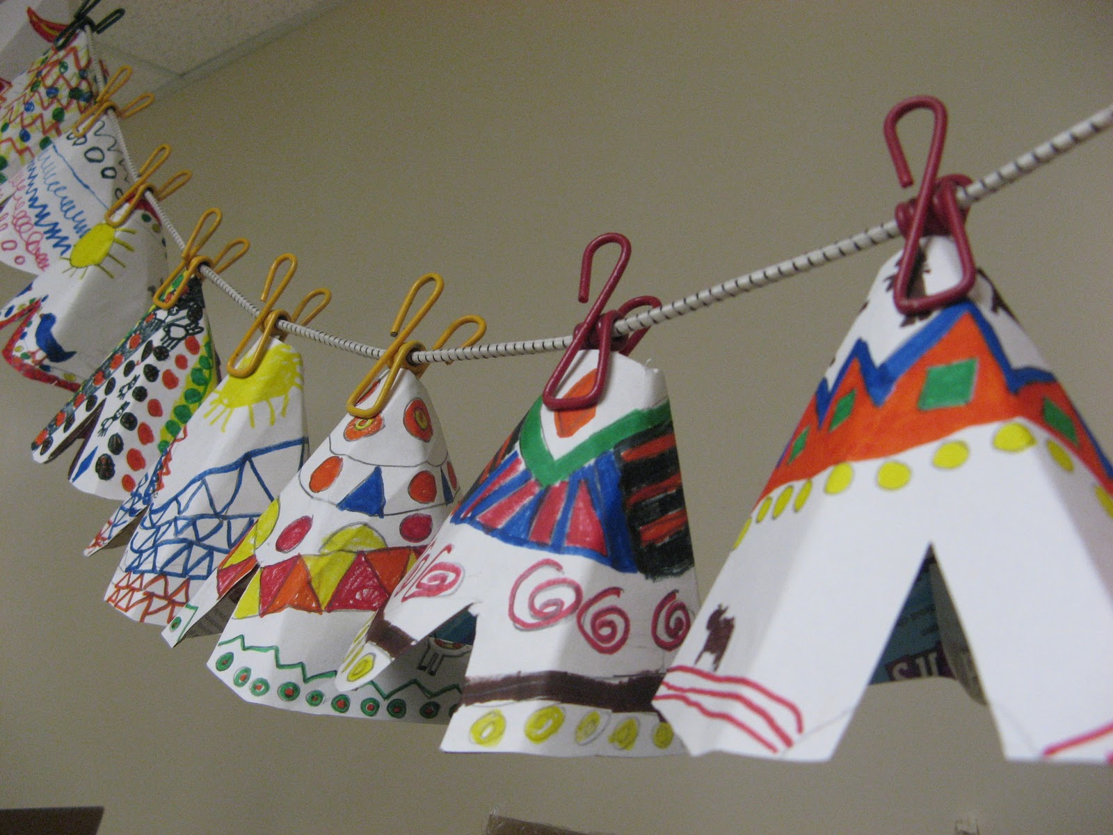 Mrs Clause S Creative Classroom Native American Tipi S