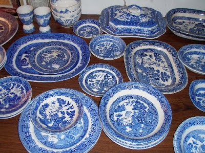 BLUE PATTERN DISHES  Patterns Gallery
