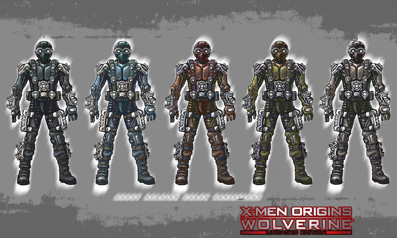 X Men Origins Wolverine Concept Art